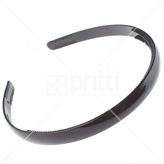 Maroon Plastic Narrow Hairband - 10 per pack