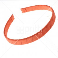 Grosgrain Hairbands Rust - 10 per pack