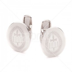 Oscar - School Crested Cufflinks Oval