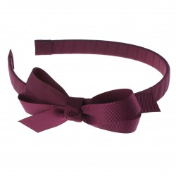 Red Garbow Hairband with Bow - 10 per pack