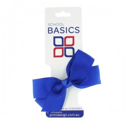 Royal Blue Small Jani Bow on Clip - 10 per pack