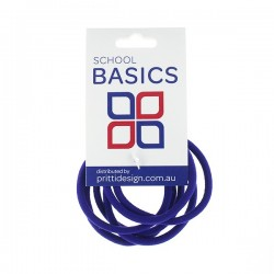 Royal Snag Free Basic Elastics 8 piece - 10 per pack