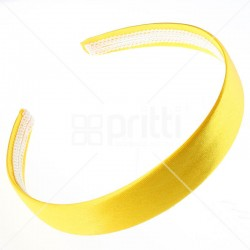 Gold Satin Hairband - 10 per pack