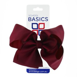 Red XLarge Shilo Bow on Clip - 10 per pack