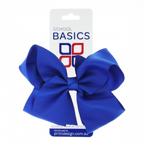 Light Blue XLarge Shilo Bow on Clip - 10 per pack