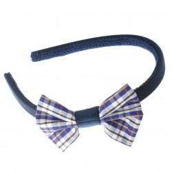 School Bow Alice Hairband - 10 per pack