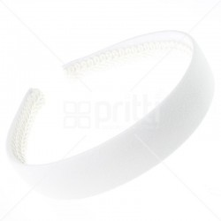 White Alice Wide Hairband - 10 per pack