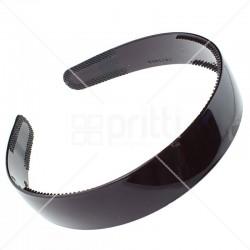 Maroon Plastic Wide Hairband - 10 per pack