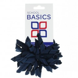Dark Navy Korker Bow - 10 per pack