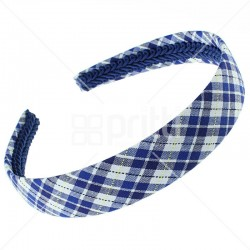 School Fabric Wide Hairband - 10 per pack