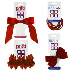 Red School Hair Accessories