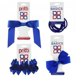 Royal Blue Hair Accessories