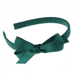 Basic Grosgrain Hairband with Bow