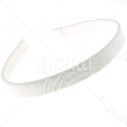 White Grosgrain Hairbands  - 10 per pack