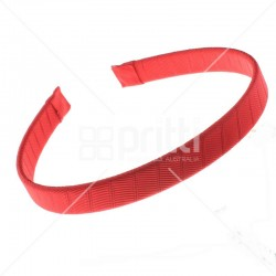 Red Grosgrain Hairbands - 10 per pack
