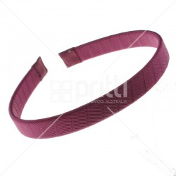 Maroon Grosgrain Hairbands  - 10 per pack