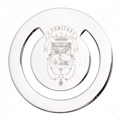 Omega Brass - School Crested Bookmark