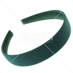 Bottle Green Alice Wide Hairband - 10 per pack