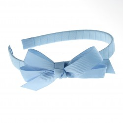 Maroon Garbow Hairband with Bow - 10 per pack