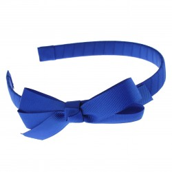 Light Blue Garbow Hairband with Bow - 10 per pack