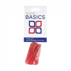 Red Basic Snap Clips 8 piece - 10 per pack