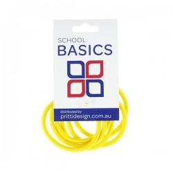 Gold Snag Free Elastics - 10 per pack