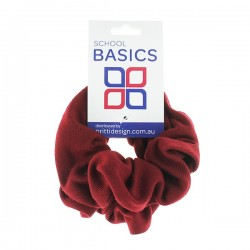 Maroon Basic Scrunchies Large 2 Piece - 10 per pack