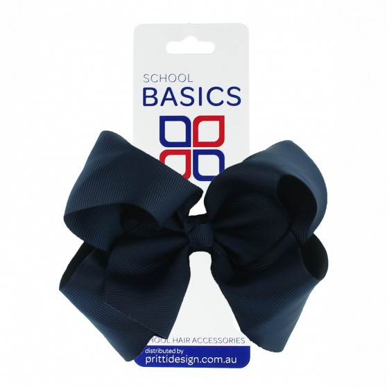 Bottle Green XLarge Shilo Bow on Clip - 10 per pack