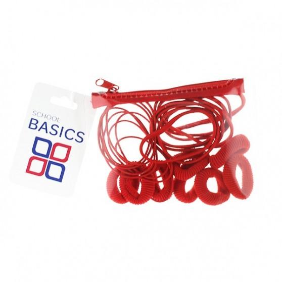 Red Zip Purse Pack - per 10 pack