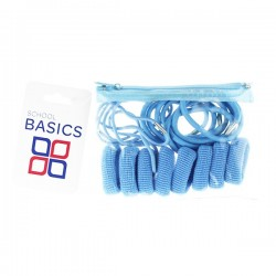 Light Blue Zip Purse Pack - per 10 pack