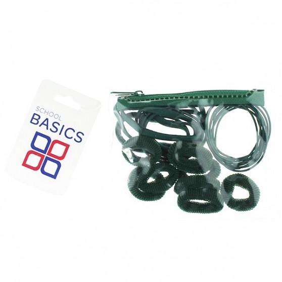 Bottle Green Zip Purse Pack - per 10 pack