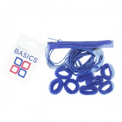 Royal Blue Zip Purse Pack - per 10 pack