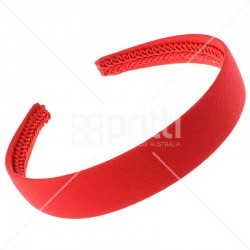 Red Alice Wide Hairband - 10 per pack