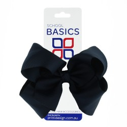Midnight XLarge Shilo Bow on Clip - 10 per pack