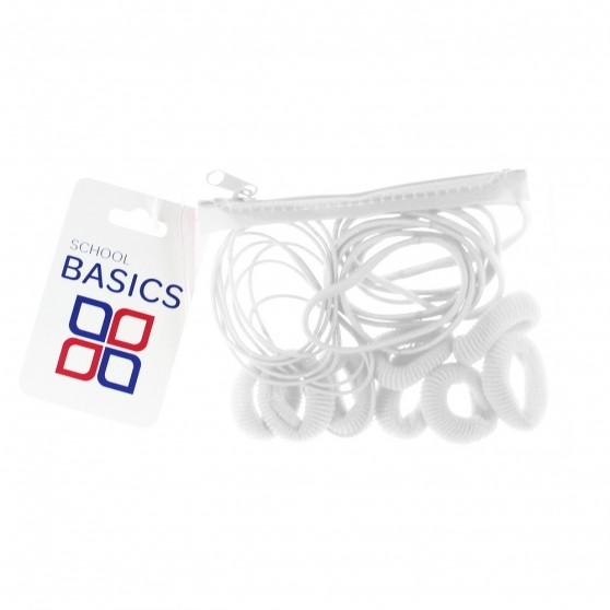 White Zip Purse Pack - per 10 pack