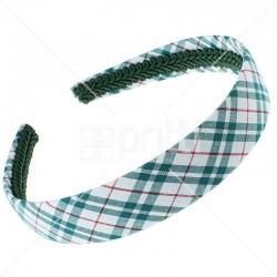 School Fabric Wide Hairband - 10 per pack