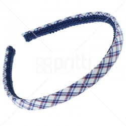 School Fabric Narrow Hairband - 10 per pack
