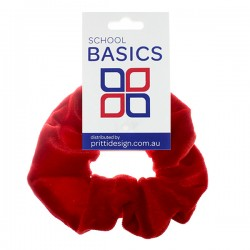 Red Velvet Scrunchies - 10 per pack