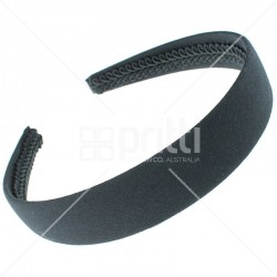 Black Alice Wide Hairband - 10 per pack