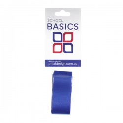 25mm Royal 1m Cut Ribbon - 10 pieces per pack