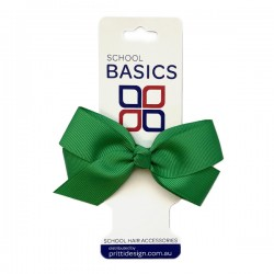 Emerald Small Jani Bow on Clip - 10 per pack