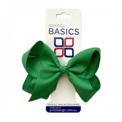 Emerald Large Shilo Bow on Elastic - 10 per pack