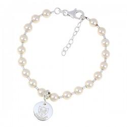 Grace - School Crested Pearl Bracelet