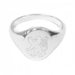 Sam - School Crested Ring