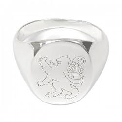 Matt - School Crested Ring